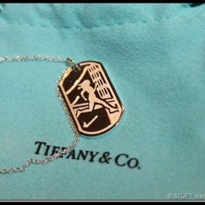 Tiffany Nike Marathon Necklace
